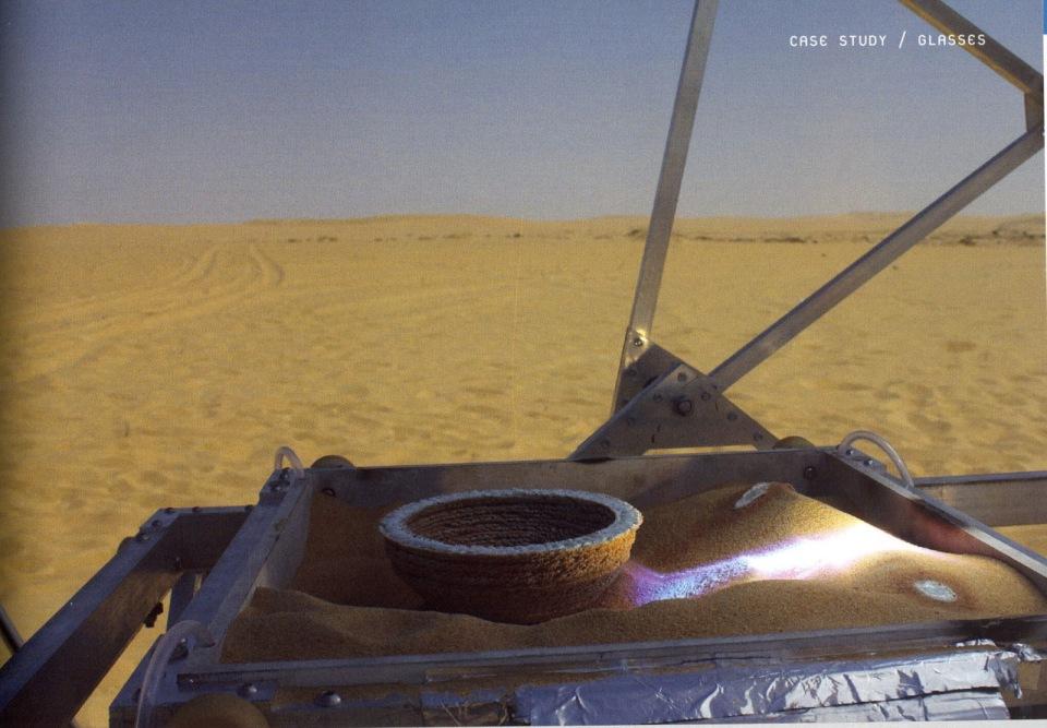 Solar Sand Sintering 1
