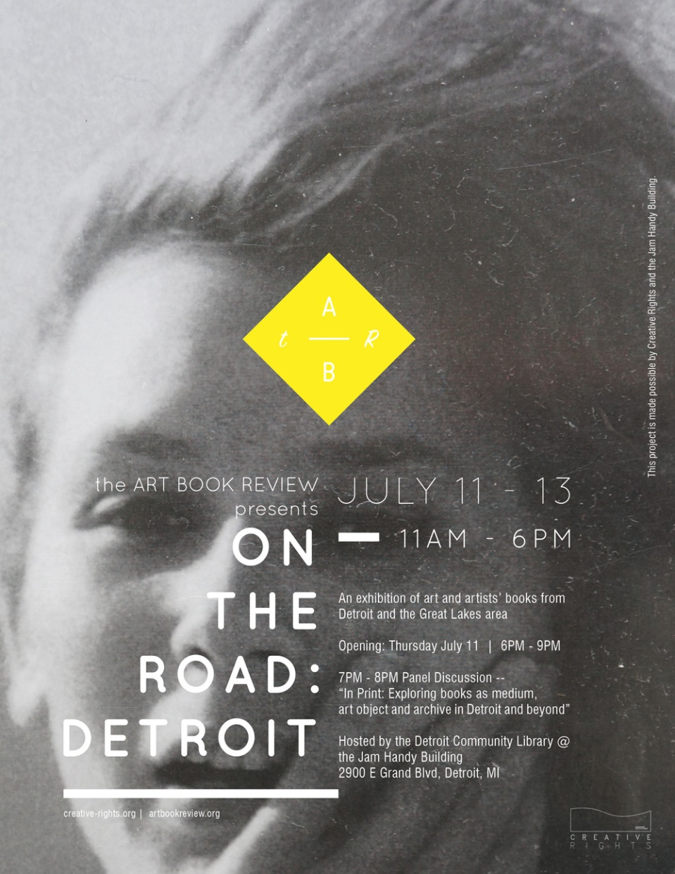 on the road detroit the art book review. Black Bedroom Furniture Sets. Home Design Ideas