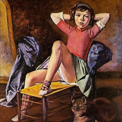 """John McIntyre on """"Balthus: Cats and Girls"""""""