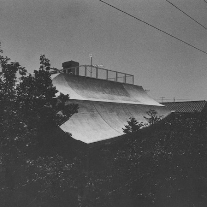 Shinohara House under High-Voltage Lines roof