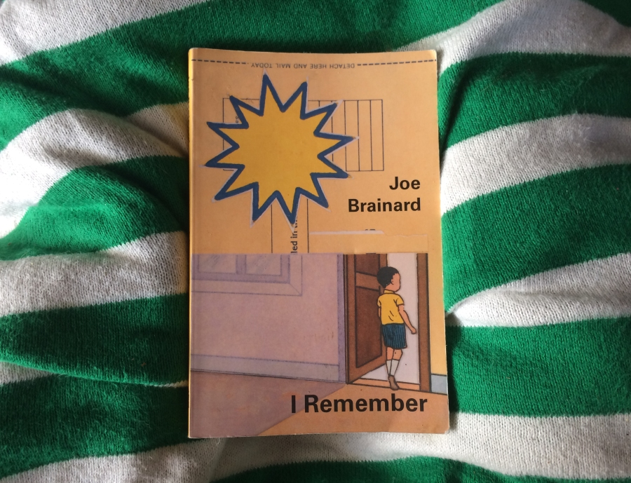 Joe Brainard- I remember - Book cover
