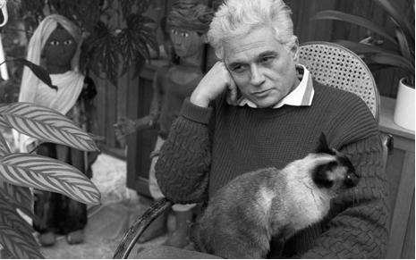 Derrida and his cat, Logos